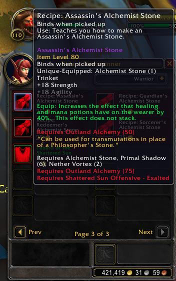 bfa alchemy trinket