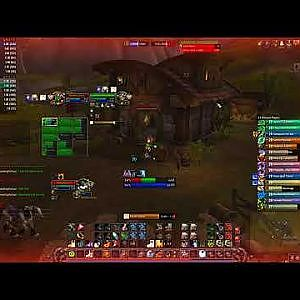lvl 20 twink 16-2 down to 7 players into a comeback (drama in chat) - YouTube