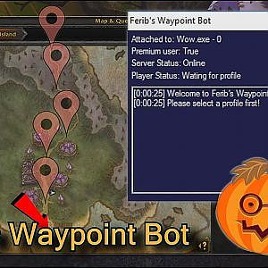 Ferib's Waypoint Bot - a tool that automatizate your character movement - YouTube