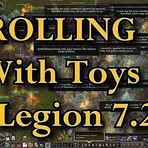 Trolling with toys