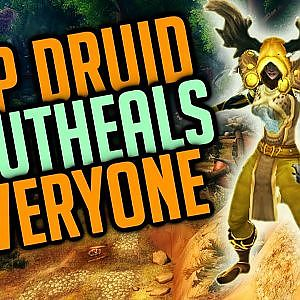 F2P Twink Resto Druid Outheals Multiple Veterans For Victory