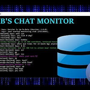 Ferib's Chat Monitor - Tool for Wow